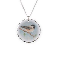 Chickadee Necklace Charm
