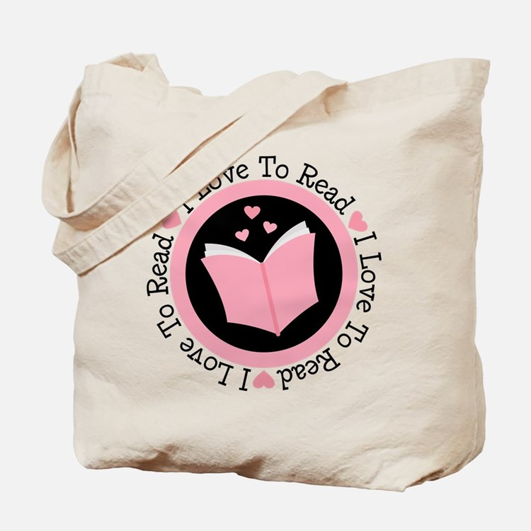 I Love To Read Books Tote Bag