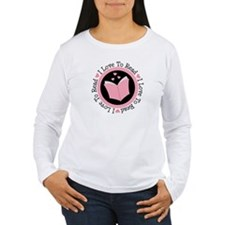 I Love To Read Books T-Shirt