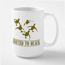 Addicted to Quack Large Mug