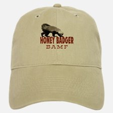 Honey Badger BAMF Baseball Baseball Cap