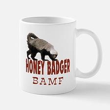 Honey Badger BAMF Mug