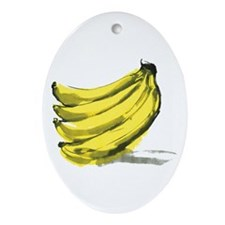 Banana Ornament (Oval)