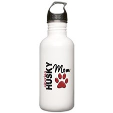 Siberian Husky Mom 2 Water Bottle
