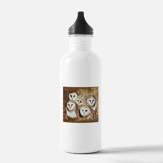 Cute Hoot owl Water Bottle