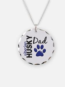 Siberian Husky Dad 2 Necklace