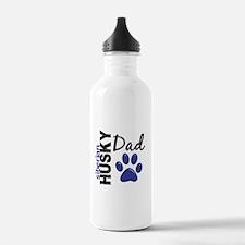 Siberian Husky Dad 2 Water Bottle