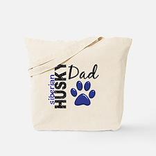 Siberian Husky Dad 2 Tote Bag
