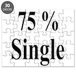 75% Single Puzzle