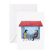 Catherine Cafe Greeting Cards