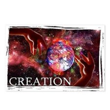 creation Postcards (Package of 8)