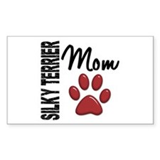 Silky Terrier Mom 2 Decal