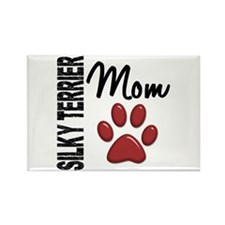 Silky Terrier Mom 2 Rectangle Magnet (100 pack)
