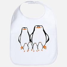 Penguin Family Bib