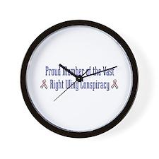 Conspiracy Wall Clock
