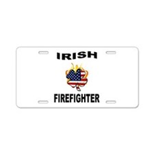 Irish USA Pride Aluminum License Plate