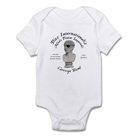 Talk Like a (Roman) Pirate Infant Bodysuit