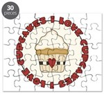 I Love Cupcakes Puzzle