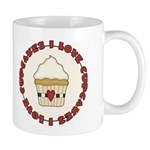 I Love Cupcakes Mug