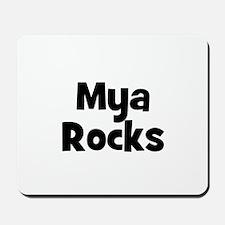 Mya Rocks Mousepad