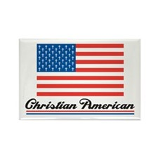 Christian American Rectangle Magnet (10 pack)