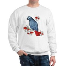 Love my African Grey Sweatshirt