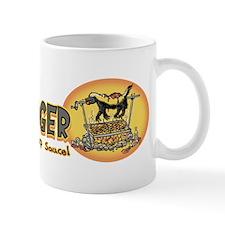 Love Honey Badger BBQ Mug