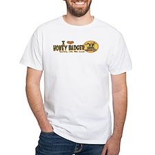 Love Honey Badger 2 Sided Shirt