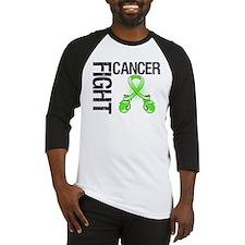Fight Lymphoma Cancer Baseball Jersey