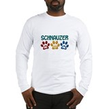 Schnauzers Long Sleeve T-shirts