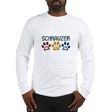 Schnauzer Mom 1 Long Sleeve T-Shirt