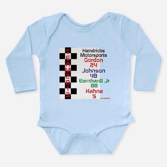 team 2013 Hendricks Long Sleeve Infant Bodysuit