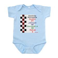 team 2013 Hendricks Infant Bodysuit