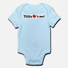 Tillie loves me Infant Creeper
