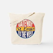 St Louis Vintage Label Tote Bag
