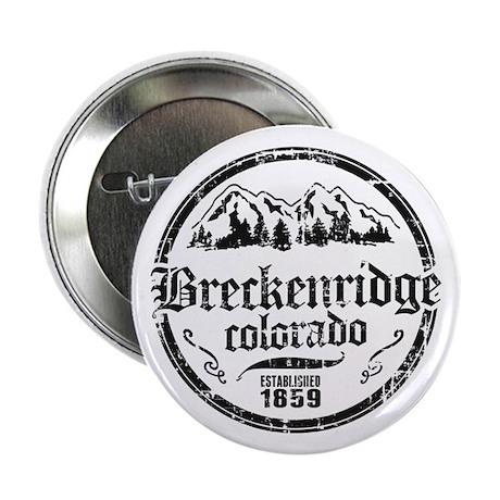 """Breckenridge Distressed Circle 2.25"""" Button"""