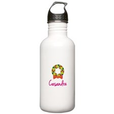 Christmas Wreath Casandra Sports Water Bottle