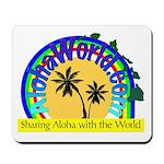 AlohaWorld Logo Mousepad