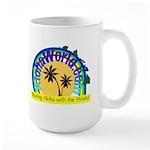 AlohaWorld Logo Large Mug