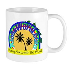 AlohaWorld Logo Mug