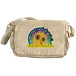 AlohaWorld Logo Messenger Bag