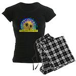 AlohaWorld Logo Women's Dark Pajamas