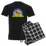 AlohaWorld Logo Men's Dark Pajamas