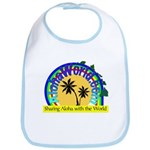 AlohaWorld Logo Bib