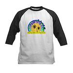 AlohaWorld Logo Kids Baseball Jersey