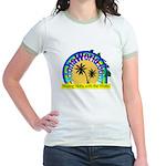 AlohaWorld Logo Jr. Ringer T-Shirt