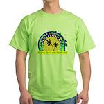 AlohaWorld Logo Green T-Shirt