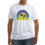 AlohaWorld Logo Fitted T-Shirt