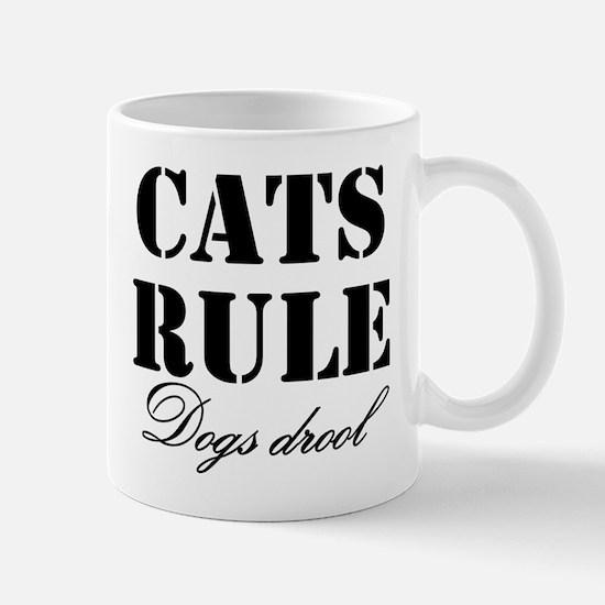 Cats v. Dogs Mug