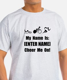 Tri Cheer Me [Personalize It! T-Shirt
